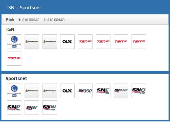 TSN + Sportsnet